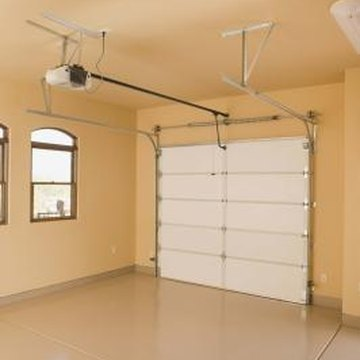 Finishing your garage's interior gives it a finished look.