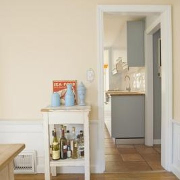 Doorway transitions can be tricky when installing laminate flooring.