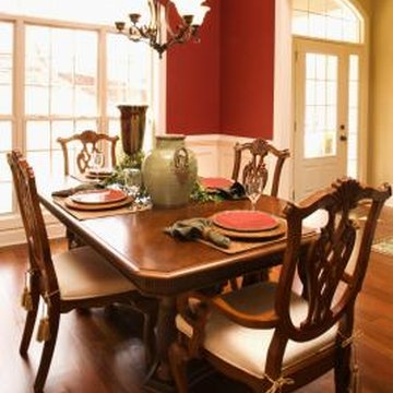 Restore your dining table to a nice, glowing finish.