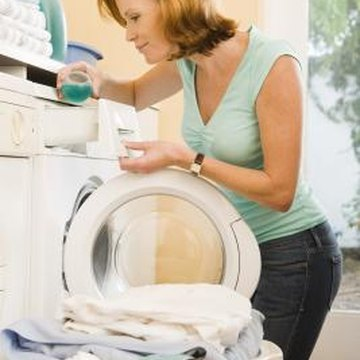Installing a drainage tray beneath your washing machine can prevent water damage if the washer ever leaks.