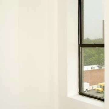 Choose a specialty rod for a window close to an adjacent wall.
