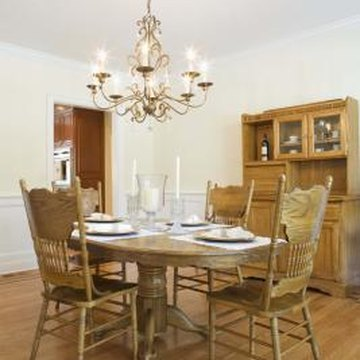 How to refurbish old dining room chairs home guides sf for Refinishing dining room chairs