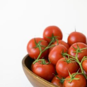 Getting a good tomato harvest depends in part on the soil quality.