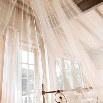 How To Make A Bed Canopy Using A Circle Shower Rod Home