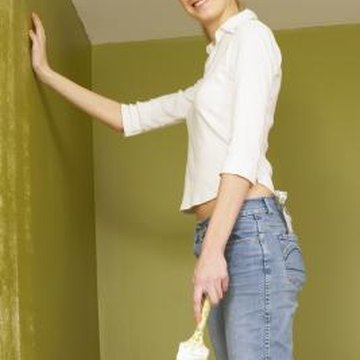 Paint sometimes becomes brittle over time, especially amid changes in temperature and humidity.