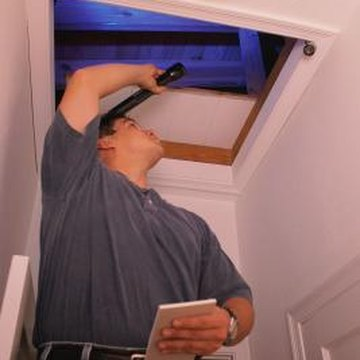 An attic insulation box will eliminate drafts from the attic.