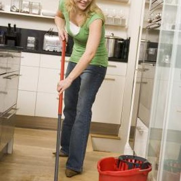 A clean floor is a source of maintenance pride.