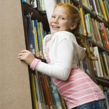 Attaching the bookcase to the wall helps prevent accidents.
