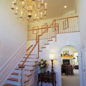 A neutral front hall is inviting and will put visitors at ease.
