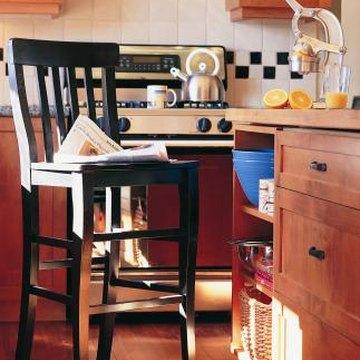 How to cover ugly rental kitchen backsplashes home guides sf gate - Design your own backsplash ...