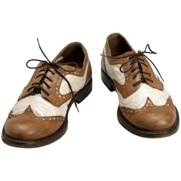 The edge of the leather on wingtip shoes is shaped like a 'W.""