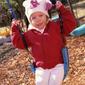 how to anchor a wooden swing set 2