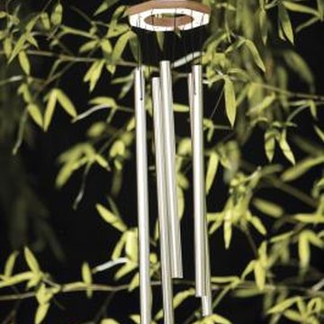 Hang a wind chime nearby to help deter birds.