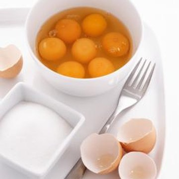 Animal products such as eggs are good sources of B vitamins.