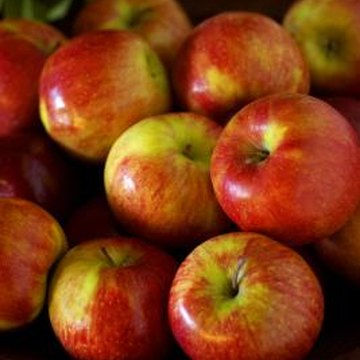 The glossy sheen of store-bought apples results from an FDA-approved coating.