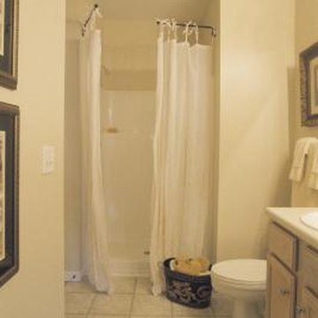 Shower liners are inexpensive and easy to install for showers.