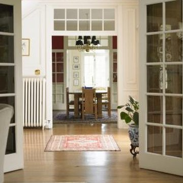 Using the same flooring in your dining room and living room creates a seamless, open look for your home.