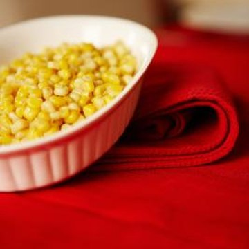 Mix corn with green peas to get even more protein.