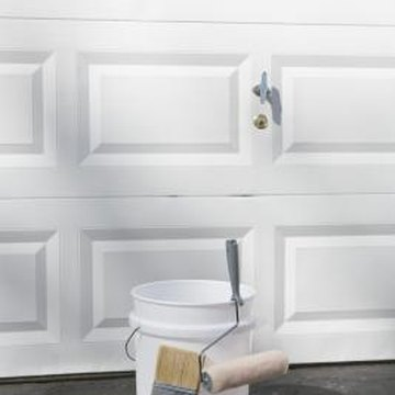 You can paint your garage door in one day.
