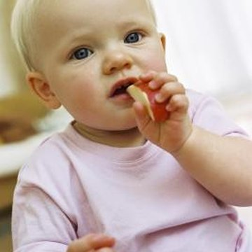 Soft fruits, veggies and grains can satisfy your baby's daily fiber needs.