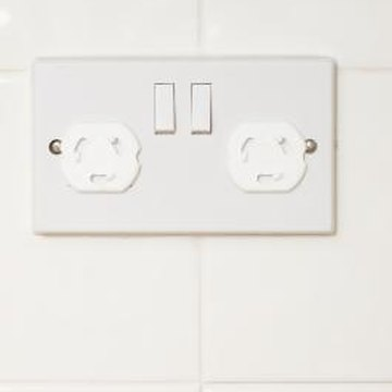 Tiles can be cut to accommodate outlets of any shape or size.