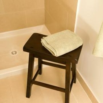 Retiling your shower can make it look like new.