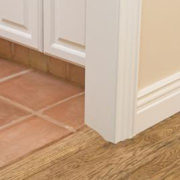 How To Attach A Threshold Floor Reducer To Ceramic Tile