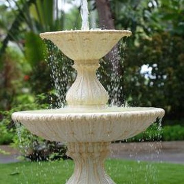 Do not place your fountain around furniture that should not get wet.
