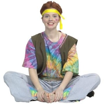 A tie dyed shirt, your personality