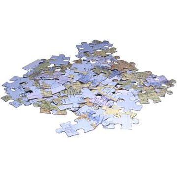 your completed jigsaw puzzles