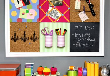 DIY Grid Bulletin Board System