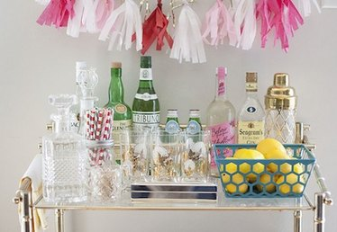 Bottom's Up! 9 DIY Bar Carts to Elevate Your Cocktail Hour