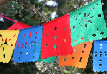 Papel Picado: DIY Mexican Cutout Flags