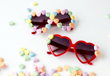 DIY Eye Candy Valentine Sunglasses