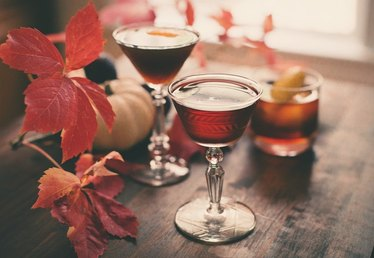 Rye Cocktails For Autumn