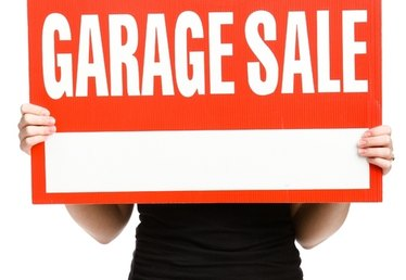 How to Make More Money From a Garage Sale