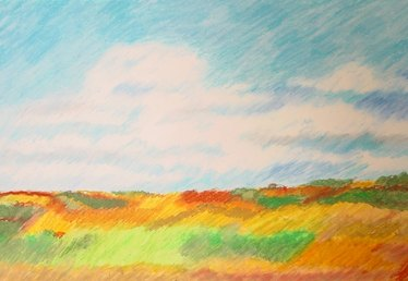 How to Paint Landscapes With Oil Pastels