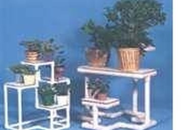 Making a Plant Stand From PVC Pipe