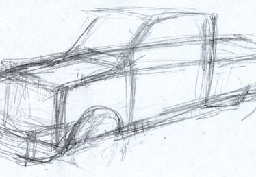 How to Draw a Ford F350 Short Bed Truck