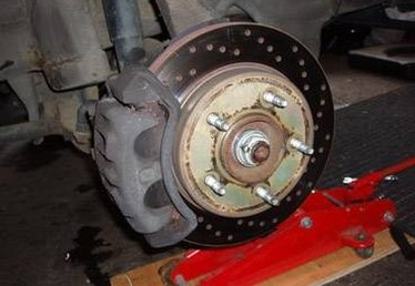 How to Change the Front Brakes on a Ford F150