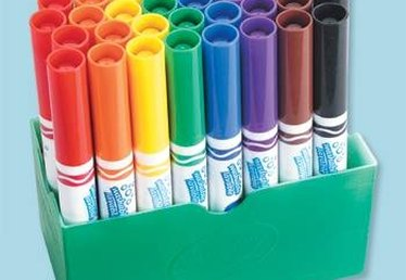 How Are Crayola Markers Made?