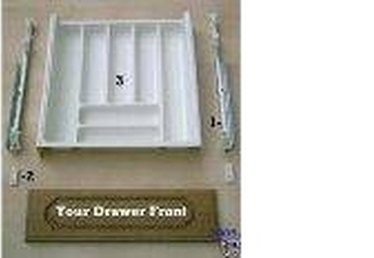 How to Replace Old Plastic Kitchen Cabinet Drawers