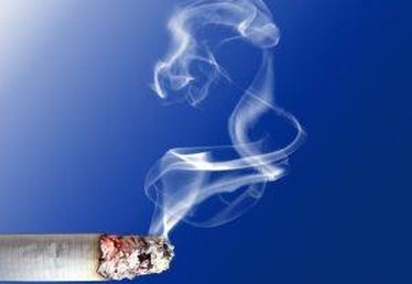 How to Remove Cigarette Smoke Stains