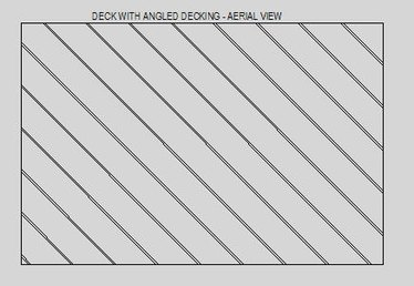 How to Build a Deck With Angled Decking