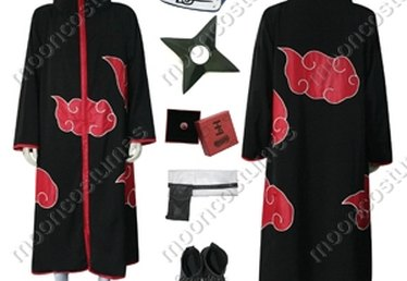 How to Make an Akatsuki Cloak