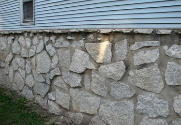 How to Repair Stone Foundation Walls