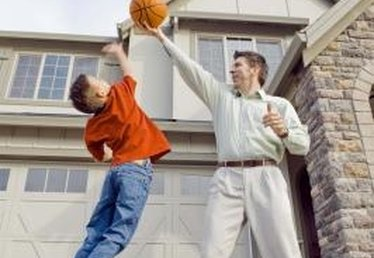How to Install a Basketball Goal on a Pitched Roof