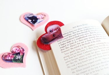 Kid Craft: Photo Valentine Bookmarks