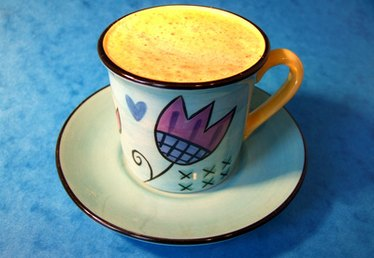 How to Paint Coffee Cups