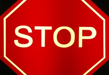 How to Make a Stop Sign with Printable Traffic Signs
